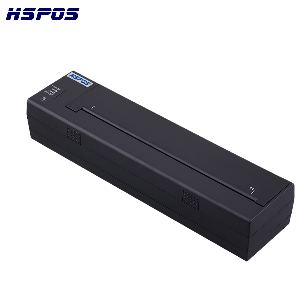 Newest Design A4 Portable Bluetooth Printer Built-in Battery Support PDF,Documents,Photos From Cellphone Printing