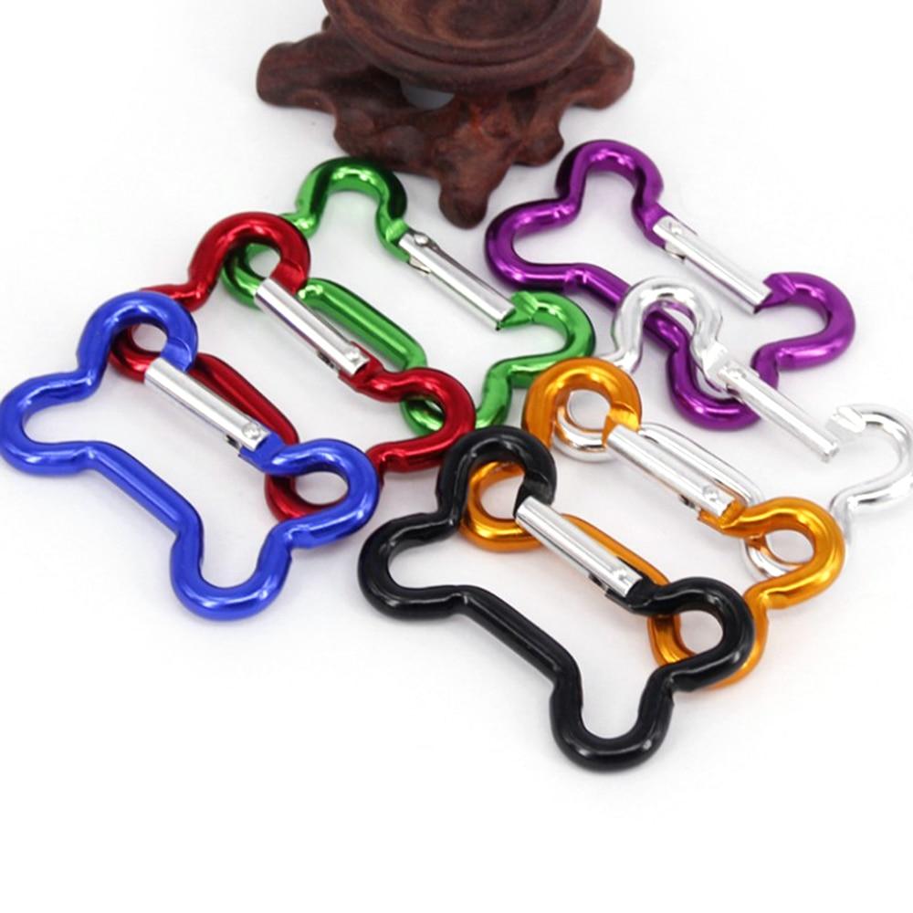 Multifunction Carabiner KeyChain Aluminum Alloy Bone Carabiner Rotating Hook Backpack Buckle Climbing Snap Clip Lock Buckle Hook
