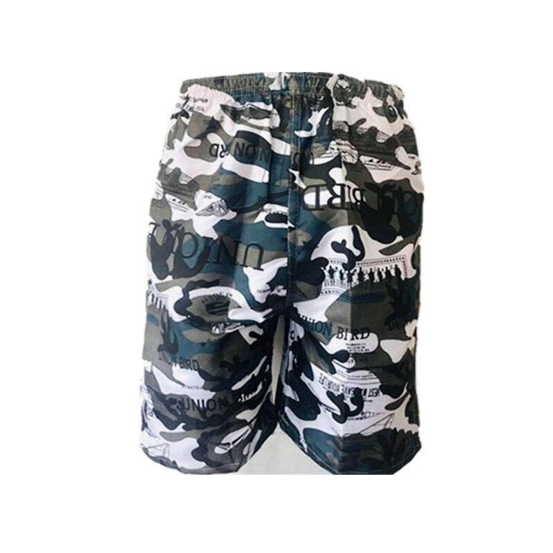 Cross Border MEN'S Beach Pants Wholesale Sweat-wicking Swimming Trunks Short Casual Sports Drifting Supermarket Supply Of Goods