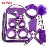 10 Purple BDSM Kits