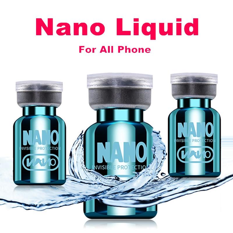 Nano Liquid Screen Protector For IPhone 11 Pro Max 7 8 PLUS Samsung S20 S10 S8 S9 Note 8 9 Invisible Cover Universal Screen Film