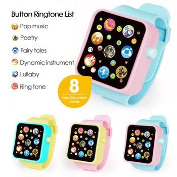 Symulacja dzieci rozmowa zegarek zabawka maluch Kid wielofunkcyjny cyfrowy plastikowy zegarek Smart Touch zabawki edukacyjne prezent urodzinowy tanie i dobre opinie CN (pochodzenie) No fire Chiny certyfikat (3C) 8 ~ 13 Lat 2-4 lata 5-7 lat Baby watch toy Muzyka As picture Rubber Girl And Boy