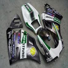 Болты+ пользовательские silvergray мотоцикл на одно изделие для поездок на мотоцикле DUCATI 748 916 996 1996 1997 1998 1999 2000 2001 2002 ABS Двигатель обтекатель комплект M2