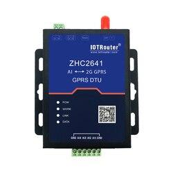 GPRS DTU na analogowy 4 20 MA Terminal komunikacyjny sztucznej inteligencji do 2G transmisji bezprzewodowej ZHC2641 w Części i akcesoria do instrumentów od Narzędzia na