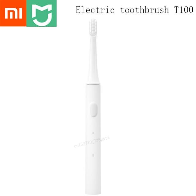Original Xiaomi Mijia T100 Mi Smart Electric Toothbrush 46g 2 Speed Xiaomi Sonic Toothbrush Whitening Oral Care Zone Reminder 1