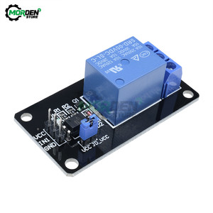 5V 1 Channel Relay Module Shield Black Relay Board With Optocoupler For 8051 PIC AVR DSP ARM MSP430 TTL For Arduino