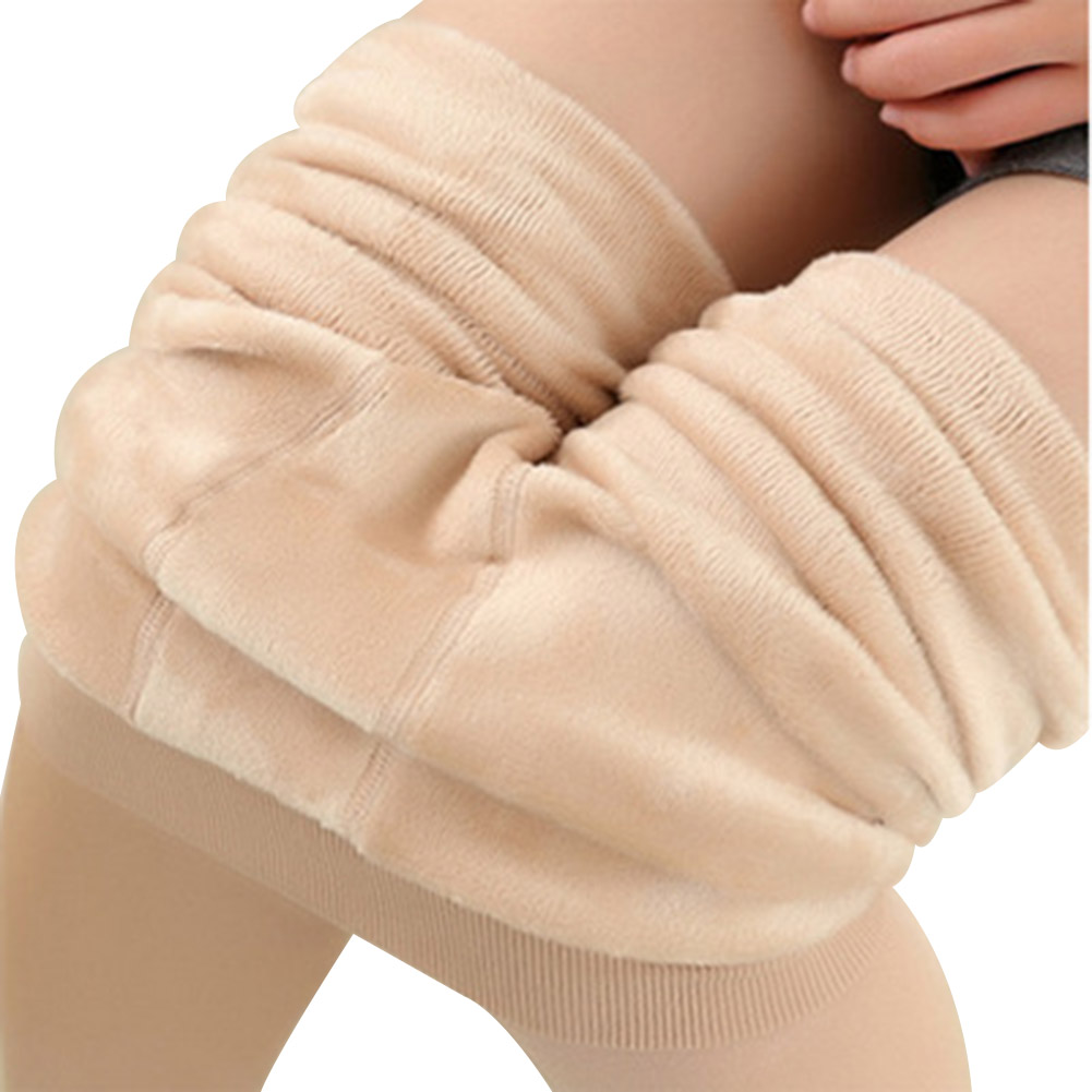 Warm Fleece Pantyhose Women Soft Leggings Fleece Lined Pants Leggings Thick Yoga Pants FDX99