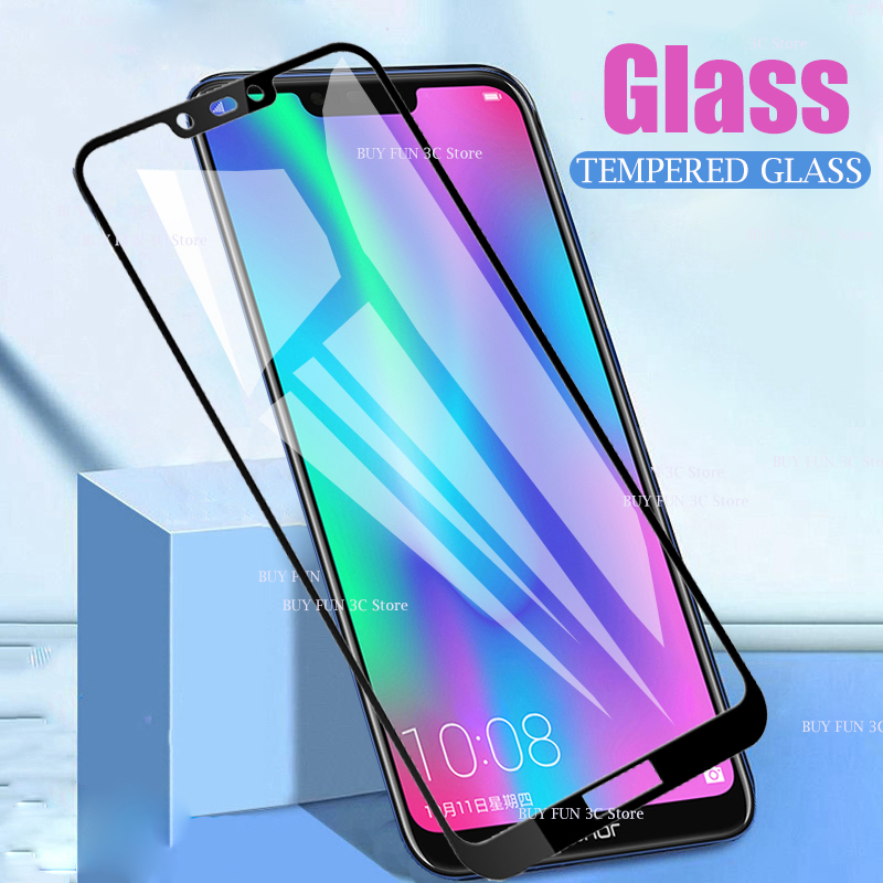 <font><b>3D</b></font> Safety Tempered <font><b>Glass</b></font> on For <font><b>Honor</b></font> 8s 8C 8A 8 Lite Protective <font><b>Glass</b></font> on <font><b>Honor</b></font> 8c 8a Honer s8 C8 A8 film Armor Screen Protector image