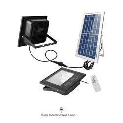 54-100 led solar luz de inundação lâmpada de parede de rua à prova dwaterproof água jardim ao ar livre rotable luzes do ponto painel de projetor opcional remoto
