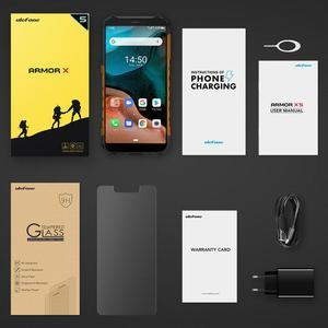 Image 5 - Ulefone Armor X5 IP68 هاتف ذكي مقاوم للماء متين MT6762 ثماني النواة أندرويد 10.0 هاتف محمول 3GB 32GB NFC 4G LTE هاتف محمول