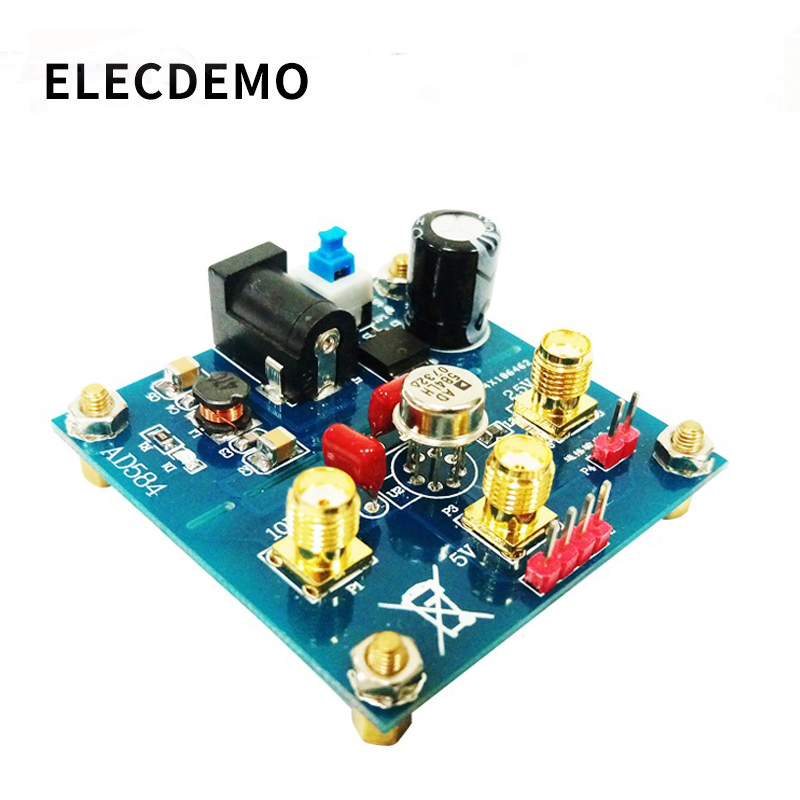 Image 2 - AD584 module Voltage Reference 2.5V/5V/7.5V/10V High Precision Reference Voltage Source Calibration function demo board-in Demo Board Accessories from Computer & Office