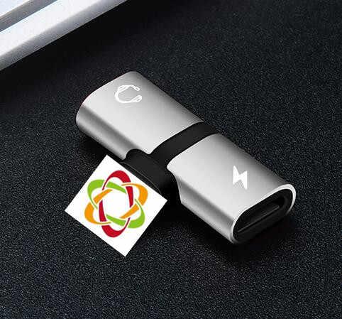 Egeedigi 2 in 1 Audio Opladen Adapter voor Bliksem Splitter Om Opladen Oortelefoon AUX Jack Kabel voor iPhone X XR xs Max 7 8Plus