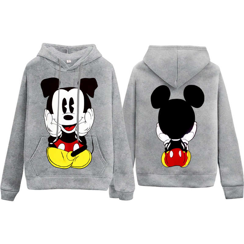 Mickey Mouse Print Hoodie Mickey Student Kleding Mannen/Vrouwen Hoodies Casual Tops Cartoon Mode Sweatwear Hooded Xxxl Top Sale
