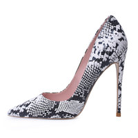 Pointed Toe Shallow Pumps 1