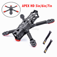 Neue HD5 / HD6 / HD7 5/6/7 zoll Carbon Fiber APEX-HD Quadcopter Rahmen Kit mit 5,5mm Arm für APEX HD FPV RC Racing Drone