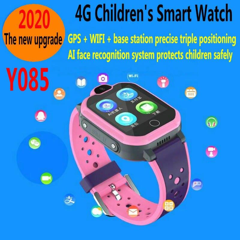 Y085-Touch Screen AI Smart Children Watch    4G Children's Smart Waterproof Watch    4GFull Netcom Children's Phone Watch