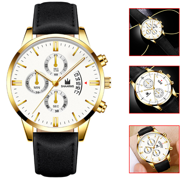 2019 Relogio Masculino Watches Men Classic Sport Stainless Steel Case Leather Band Watch Quartz Business Wristwatch Reloj Hombre 2020 relogio masculino watches men fashion sport stainless steel case leather strap watch quartz business wristwatch reloj hombr