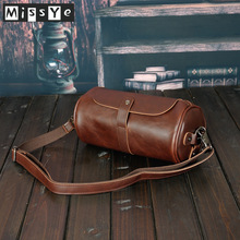 2020 New Korean fashion Vintage Men's crossbody bag small PU leather bag men's bag мужская сумка bolso de hombre мужская сумка