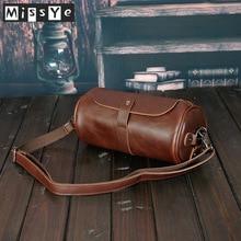 2020 New Korean fashion Vintage Men's crossbody bag small PU