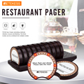 Retekess TD162 пейджер ресторан Беспроводная система вызова с 10 зуммеров для ресторана клиника кофе магазин система подкачки