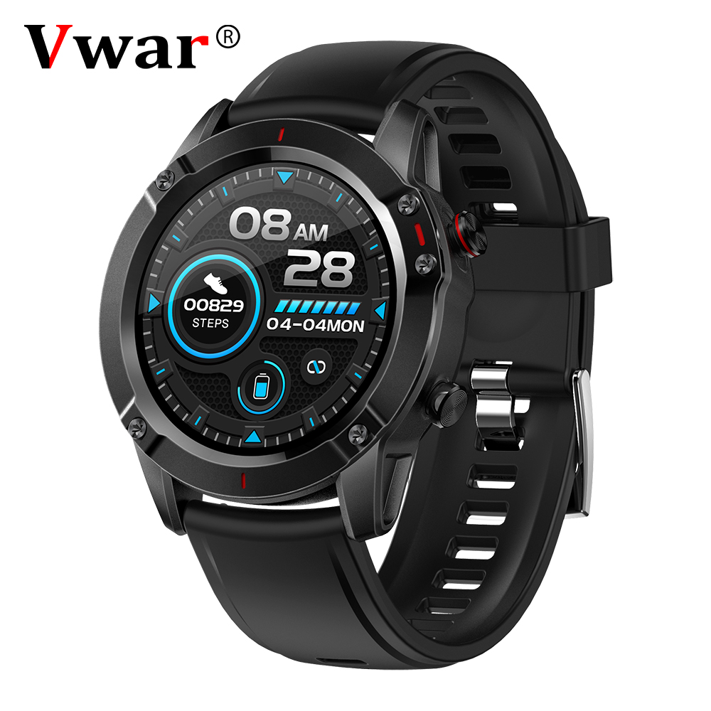 Vwar Outdoor Sport Smart Watch IP68 Waterproof Multi-Sports Mode Health Band Heart Rate Monitor Men Fitness Watches Man reloj