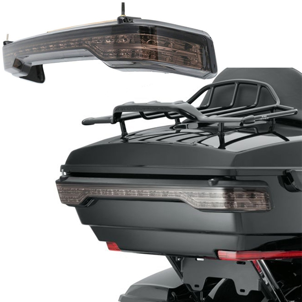 Motorcycle Tail Light, LED Brake Lamp Tour Pack Decoration LED Light For Harley Electra Glide Road Glide 14-19