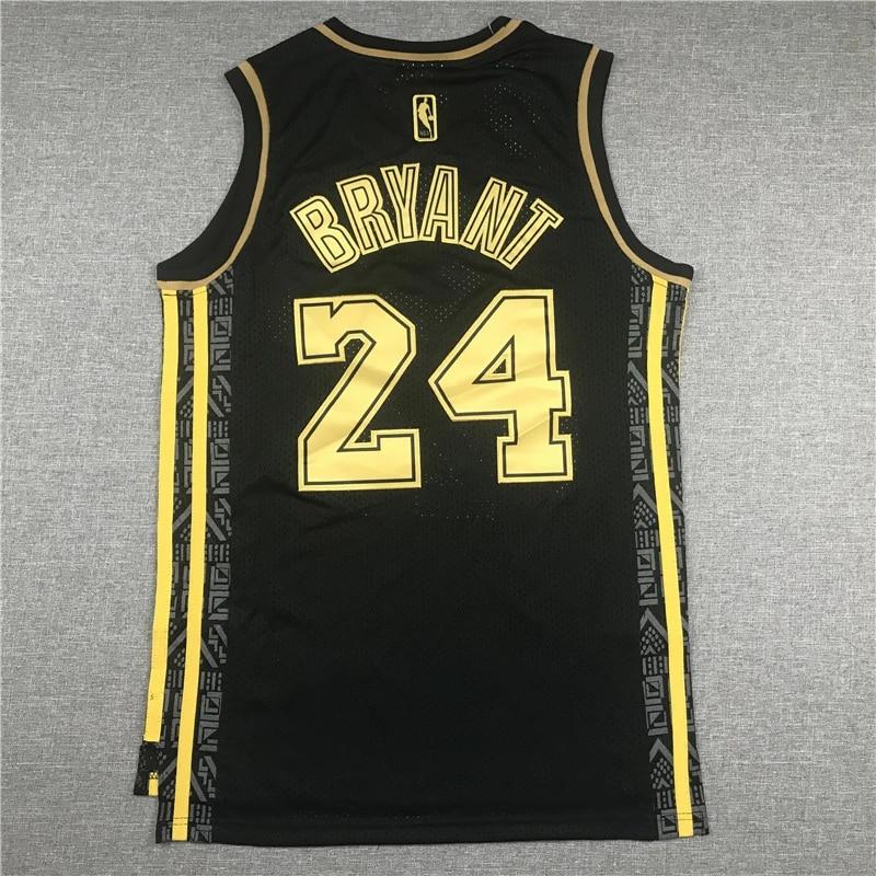 NBA Men's Los Angeles Lakers #24 Kobe Bryant Basketball Jerseys ...