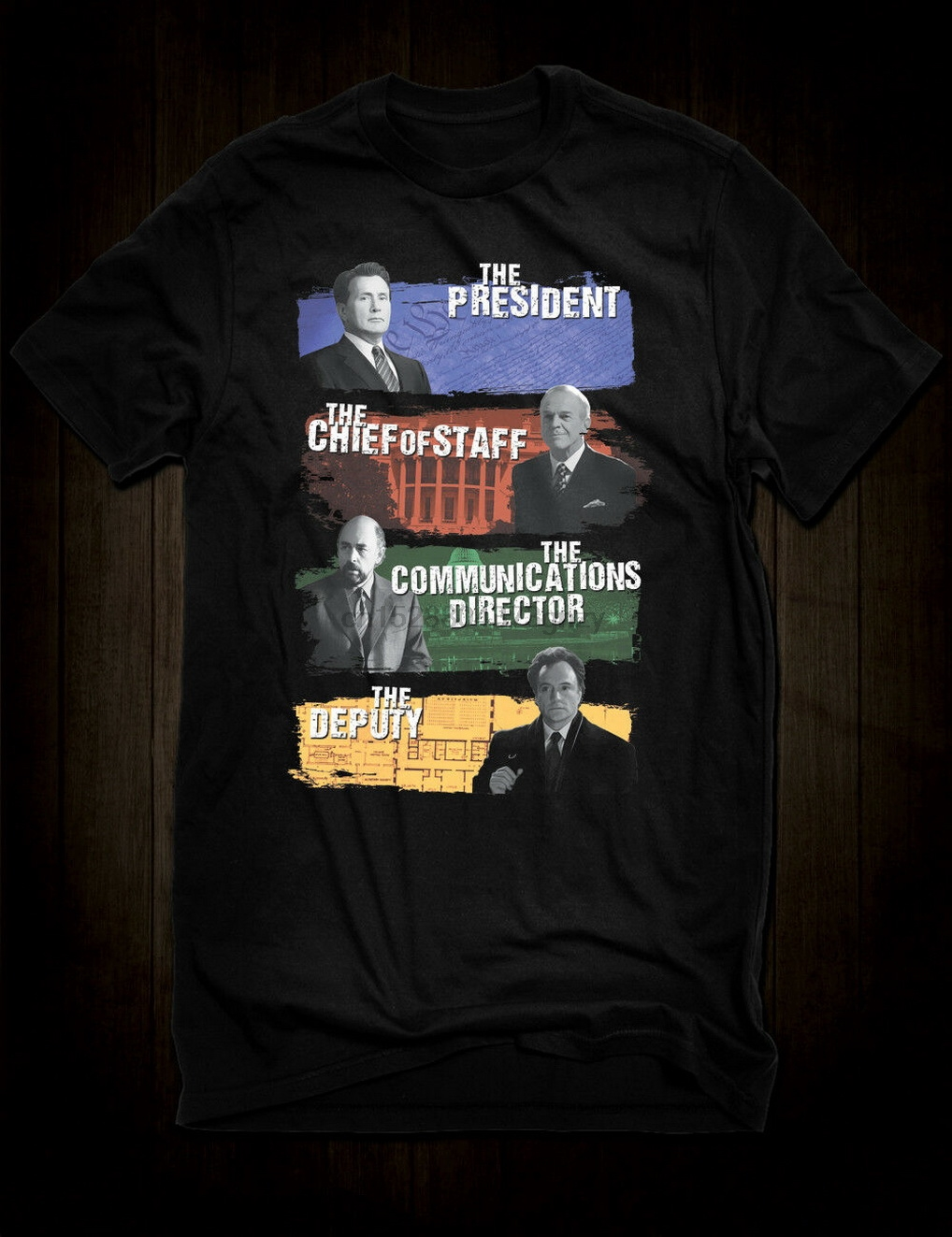 Bartlet For America T-shirt West Wing Tee Tv Show