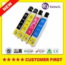 Cartuchos de tinta compatíveis para t0461 t0472 t0473 t0474 terno para epson stylus c63, c65, c83, c85, cx3500, cx4500, cx6500 etc.