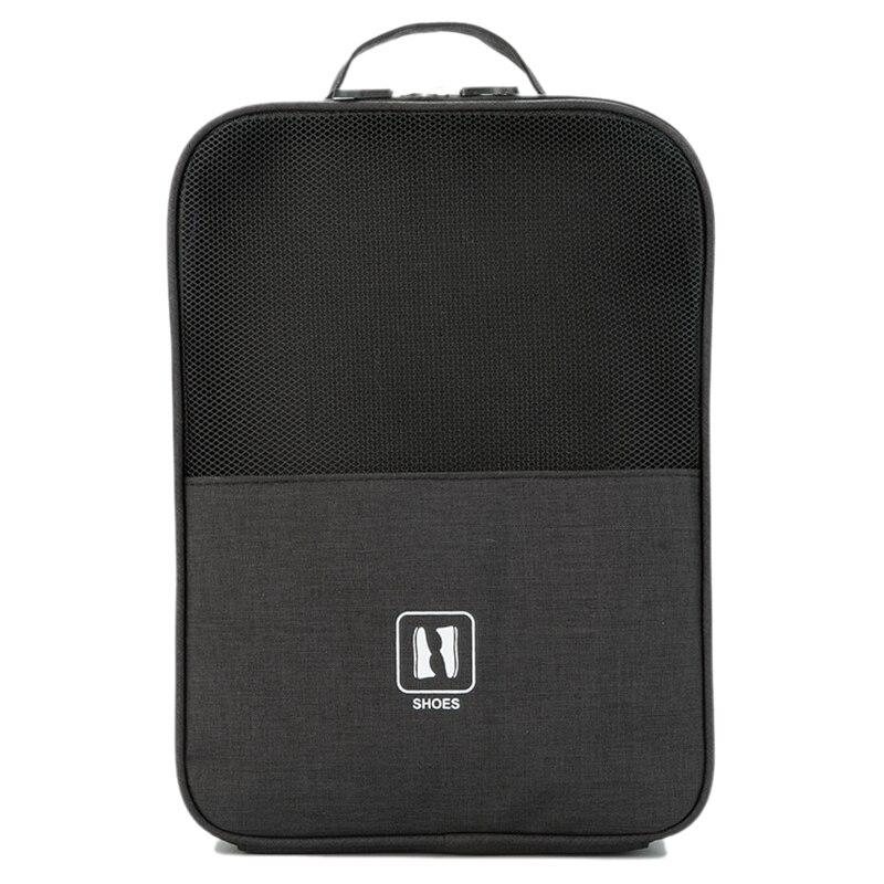 AUAU-Portable Shoe Storage Bag Shoe Classification Bag Zipper Lock Travel Luggage Storage Bag Home Organizer Accessories