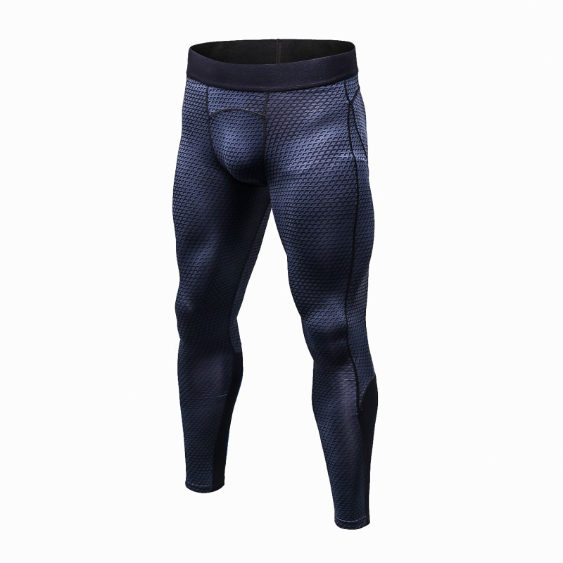 New Tights Leggings Compression Pants Pantalones Hombre Trousers Wicking Sportswear Pants Men