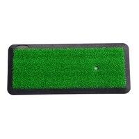 Backyard Golf Mat Training Aids Outdoor/Indoor Hitting Pad Practice Grass Mats Golf Chipping Driving Cutting Mat