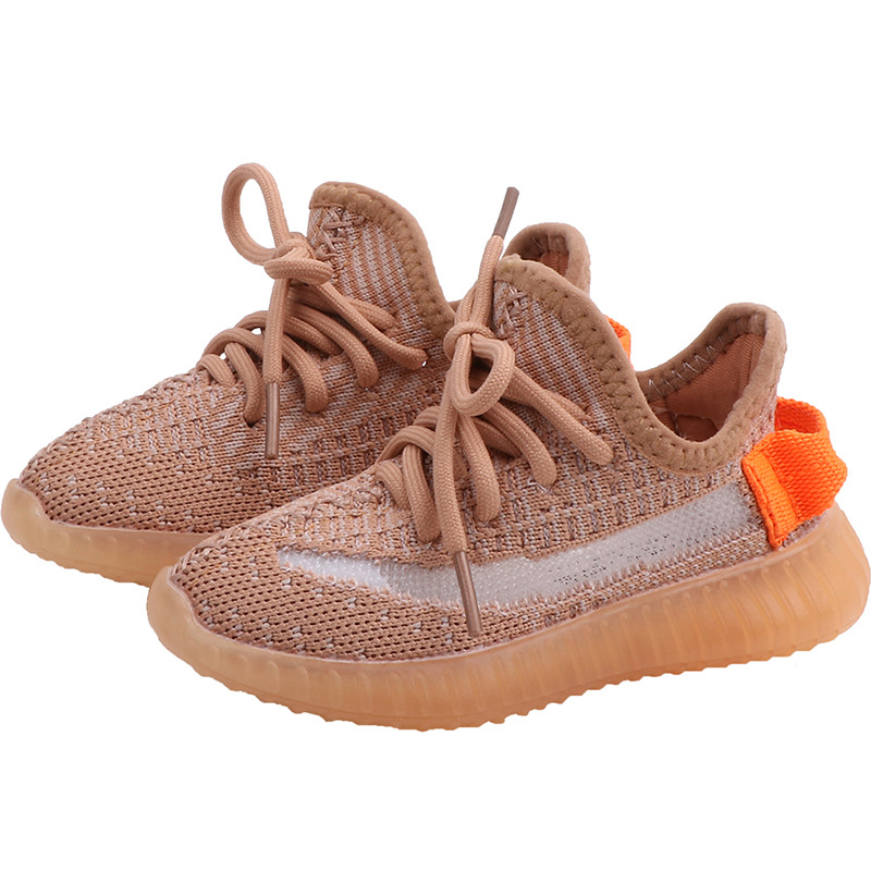 Купить с кэшбэком 2020 Spring Baby Soft Toddler Shoes Breathable Knitting Infant Shoes 0-3 Year Boy Girl Darling Coconut Shoes Child Sneakers
