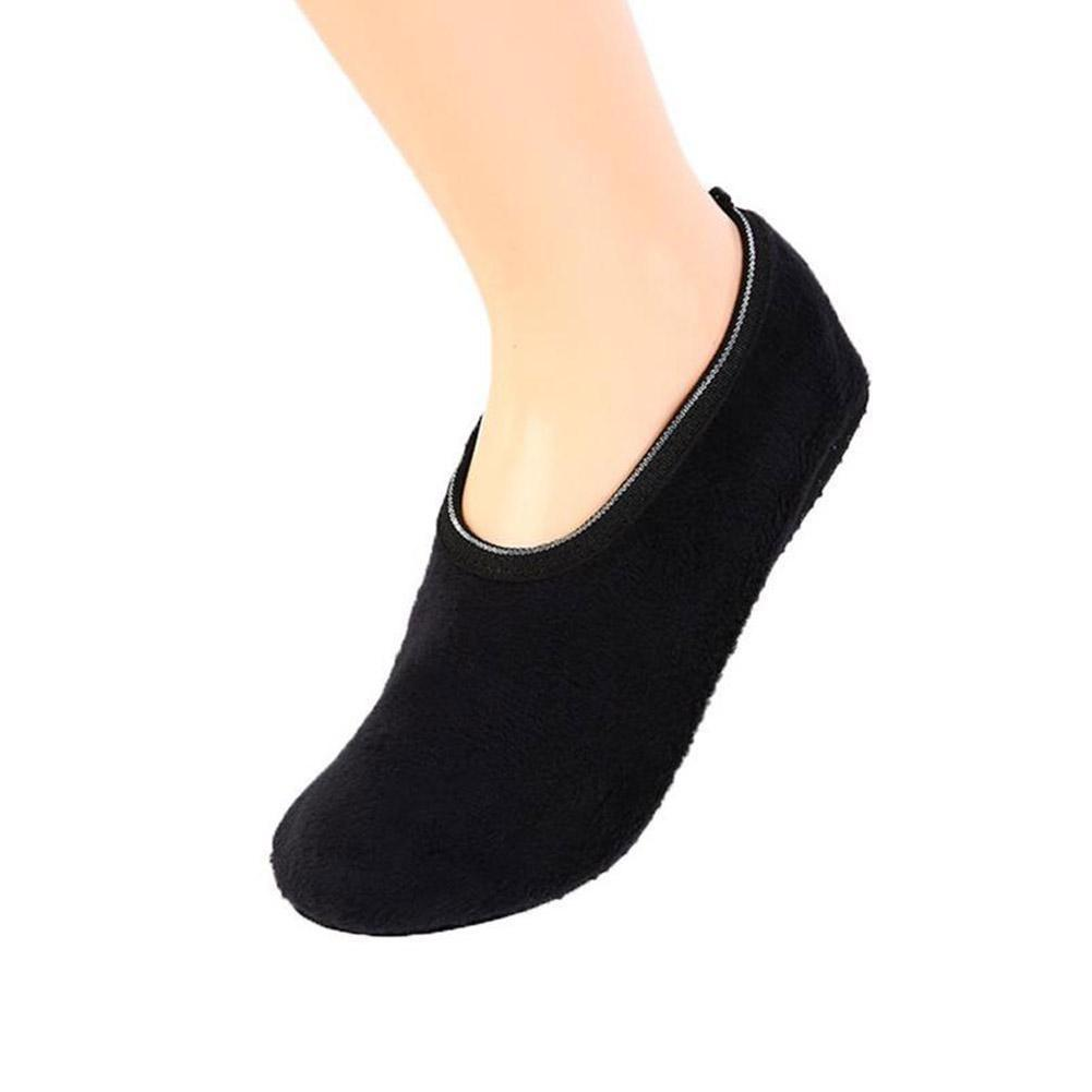 Plus Velvet Thick Floor Socks Autumn And Winter Non-slip Baby Floor Cotton Sock Girls Covers And For Boys Shoe Adult Warm Y7P2