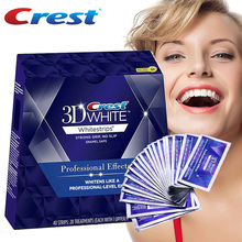プロフェッショナルエフェクト歯の漂白キット口腔衛生歯のホワイトニングストリップ クレスト 20 ポーチ/nobox