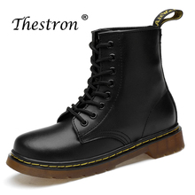 Working Men Boots Brand Fashionable Mens Casual Leather Safety With Fur Comfortable Ankle Boot