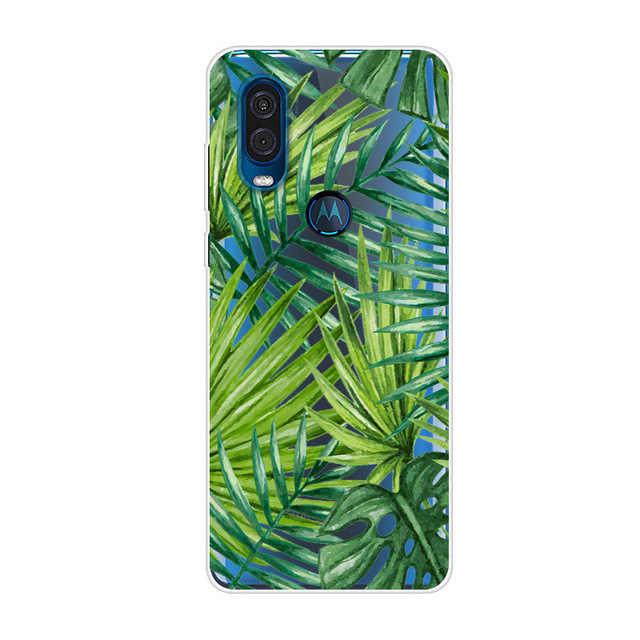 Funda de silicona para Moto One Action para Motorola Moto E6 Plus, funda de TPU suave para teléfono, funda para Moto E6 G8 Plus Play / One Macro