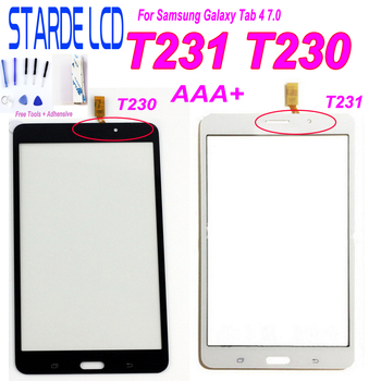7'' For Samsung Galaxy Tab 4 7.0 T231 SM-T231 T235 T230 SM-T230 Touch Screen Digitizer Sensor Panel Tablet Replacement Parts for samsung galaxy tab 4 7 0 sm t230 t230 full lcd display panel black touch screen digitizer glass assembly replacement