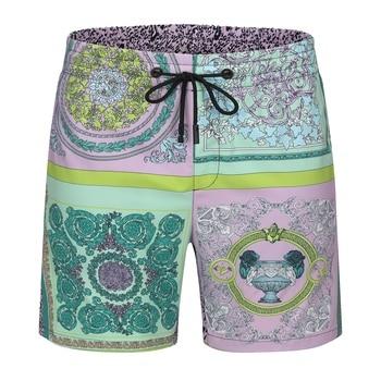 2021 New Board Shorts Briefs Quick Dry Summer Mens Siwmwear Beach For Man Swim Trunks Swimming Shorts Beachwear 1