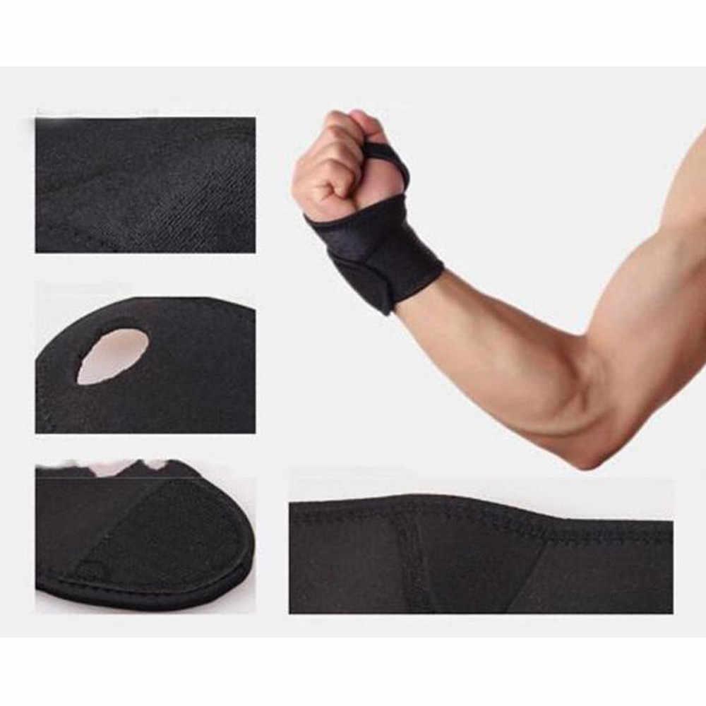 Muñequera ajustable extraíble soporte de muñeca de acero para artritis espray Carpal túnel espátula envoltura Protector