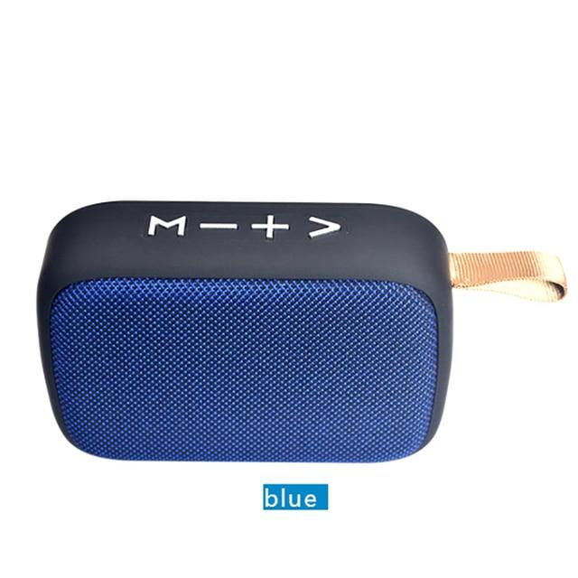 Taşınabilir kablosuz Bluetooth Mini hoparlör Stereo taşınabilir hoparlörler açık Subwoofer sütun hoparlör Bluetooth Dropship için