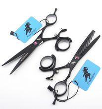 Barber Professional Hair styling scissors,6 inch Cutting Scissors ,6 inch Thinning Scissors,Salon Hairdressing Scissors цена 2017