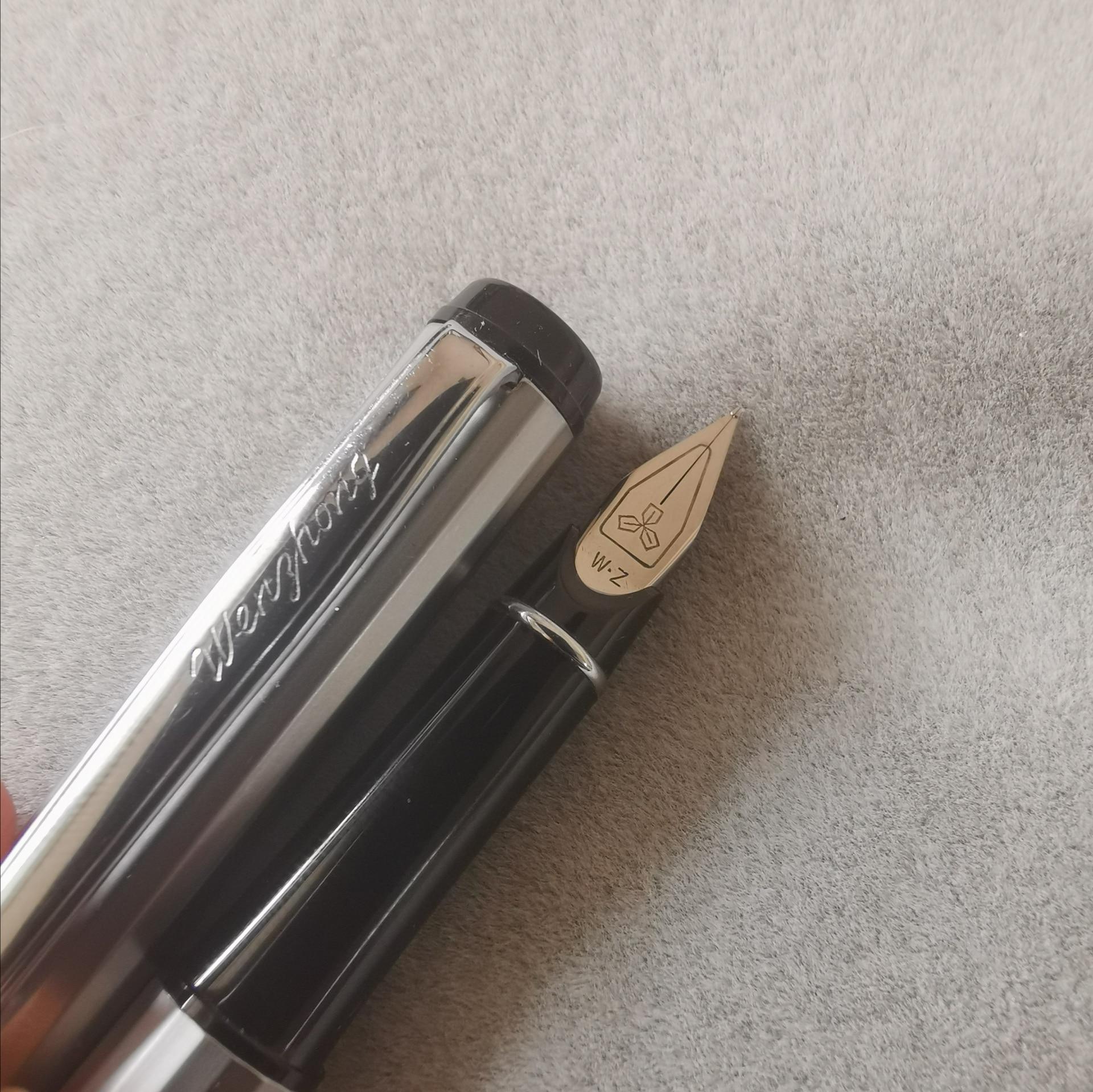 Old Stock WZ Fountain Pen Ink Pen Fine Nib 2007S Stock Stationery Office School Supplies