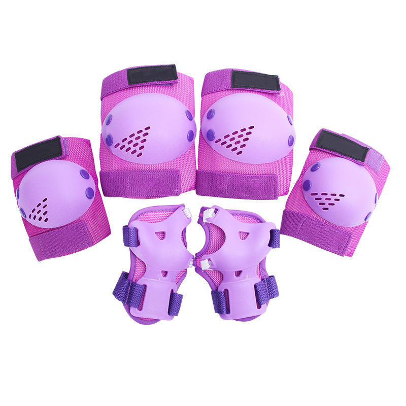 Children's Skating Protective Clothing 6 Sets Of Skates Outdoor Sports Riding Protective Clothing Suit