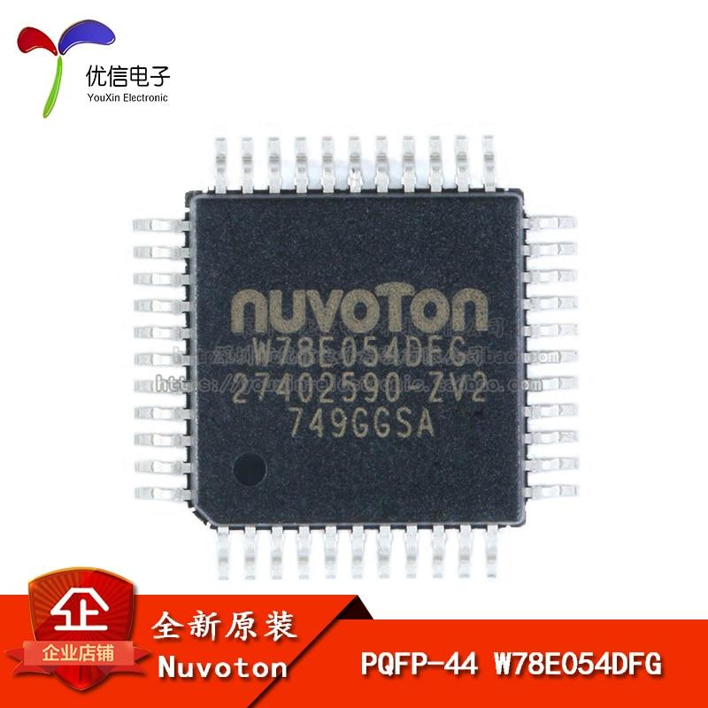 Подлинный оригинальный патч W78E054DFG TQFP-44 6T / 12T 8051 один чип