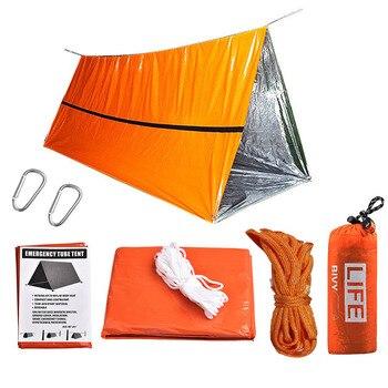 Emergency Tent Survival Kit Sleeping Bag, Waterproof Thermal Emergency Blanket, Bivy Sack ,Emergency Shelter Camping Accessories 7
