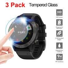 3 Pçs/lote relógio HD film Para Garmin Fenix 5 5S Plus 6S 6X 6 Pro Ultra Clear Guarda filme Protetor de Tela Premium de Vidro Temperado