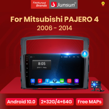 Stereo-Player Android-10 Mitsubishi Car-Radio Bluetooth Auto No-2din 2-Din 64G Junsun