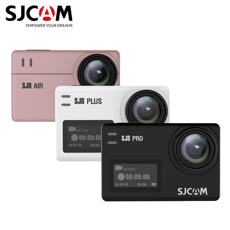 Original SJCAM SJ8 pro Action Camera 4K sj8 plus sports camera sj8 air 1296P wifi waterproof 2.33 Touch Screen outdoor Sport DV