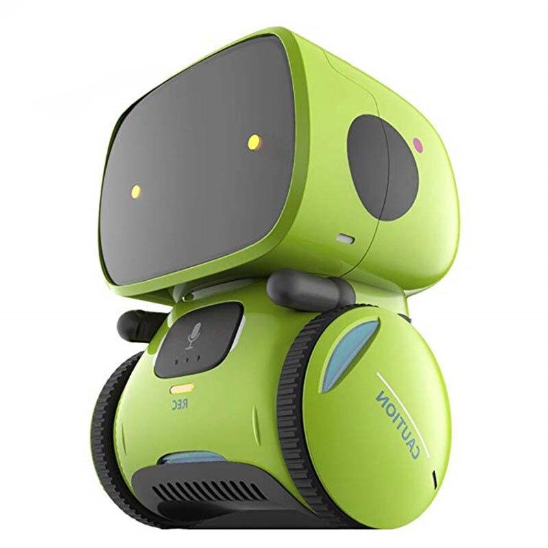Умный робот-игрушка для детей, сенсорный робот с функцией распознавания речи, Электронный Робот-игрушка, подарки для мальчиков/девочек